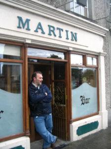 Martin Farawell in Ireland